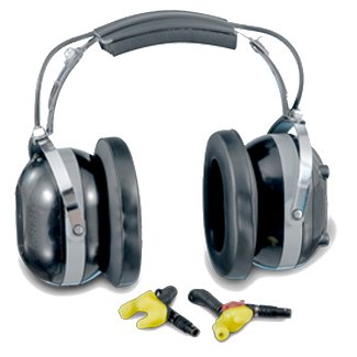 Aegisound DANR DHP - digital active noise reduction double hearing protector