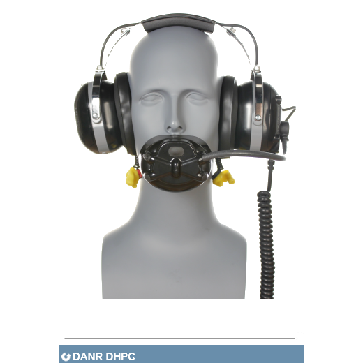 Aegisound DANR DHPC - communications and hearing protection for extreme noise