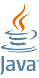 Java logo from https://www.java.com/en/about/ (2013-12-17)
